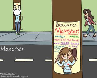 Spanktober prompt 14: Monster