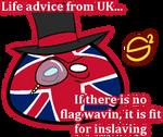 Life advice from UK by SovietSpaghetti