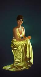 Portrait of a Dress