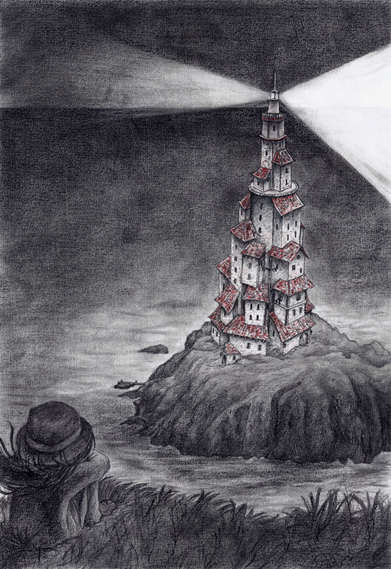 La jeune fille au phare by mbucheret