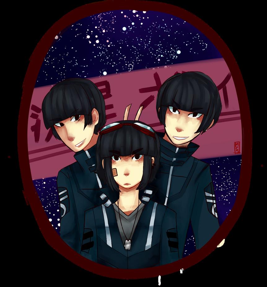 Ryuusei boys by MagicalCornSoup