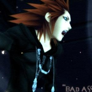 Kingdom Hearts Axel Animated Gif