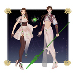 Adopt-twins paypal (open) #48-49 by Alphard-S