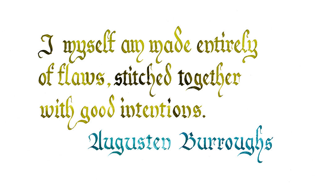 Augusten Burroughs - Flaws by MShades