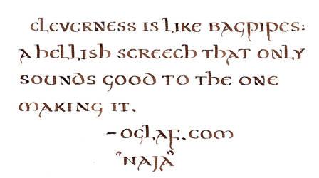 Oglaf - Cleverness