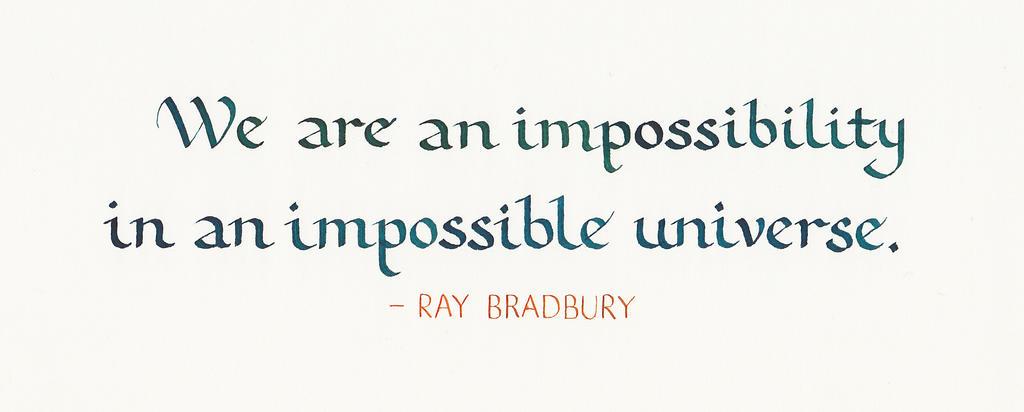 Ray Bradbury - Impossibility 02 by MShades