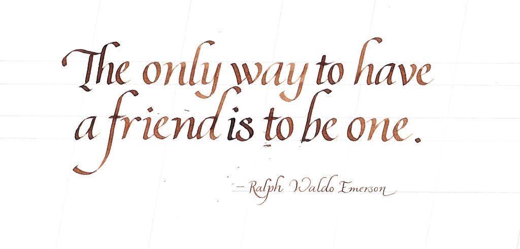 Ralph Waldo Emerson - Friends by MShades