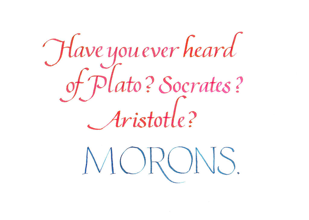 Vizzini - Morons by MShades