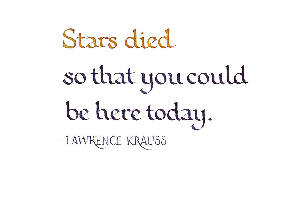 Lawrence Krauss - Stars by MShades