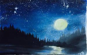 Night Sky by carlusa26