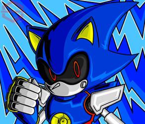 Metal Sonic by Toni-Blu