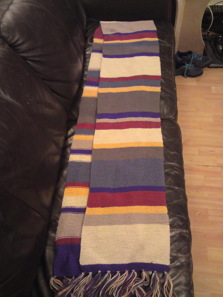 Tom Baker scarf by PrincessCyanide on DeviantArt