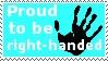 Right-Handed by dragonstar10