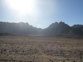 Mountain Sun - Sinai by SemiRetiredJedi
