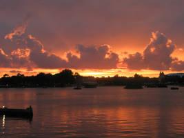 Orange Sunset by SemiRetiredJedi