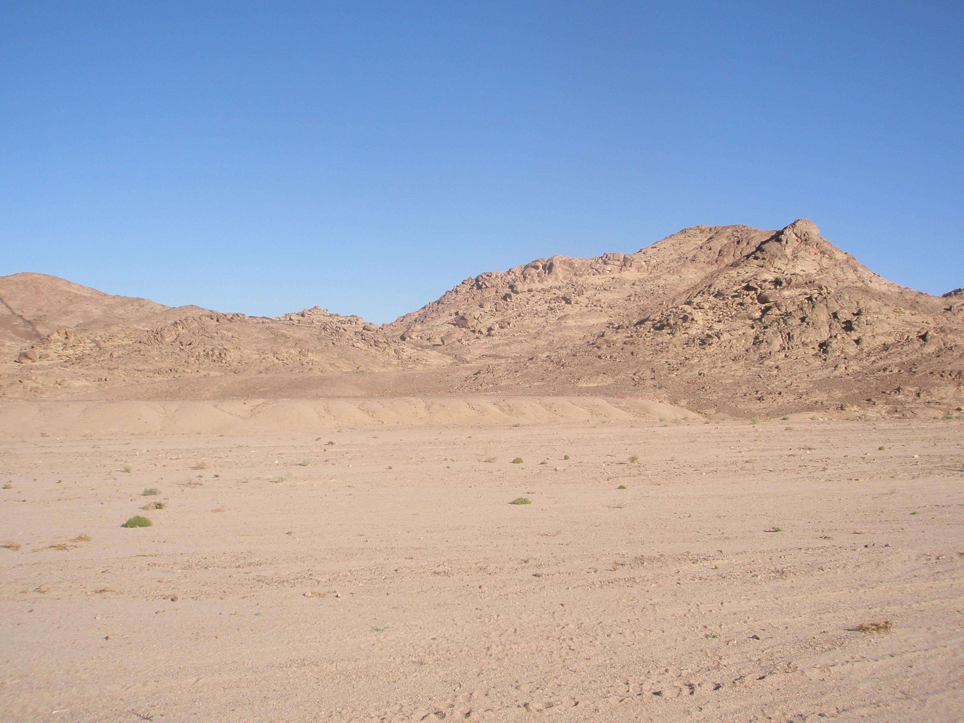 Sinai Desert Landscape by SemiRetiredJedi