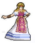 Zelda Pixel Art (Between Worlds or Smash Ultimate)