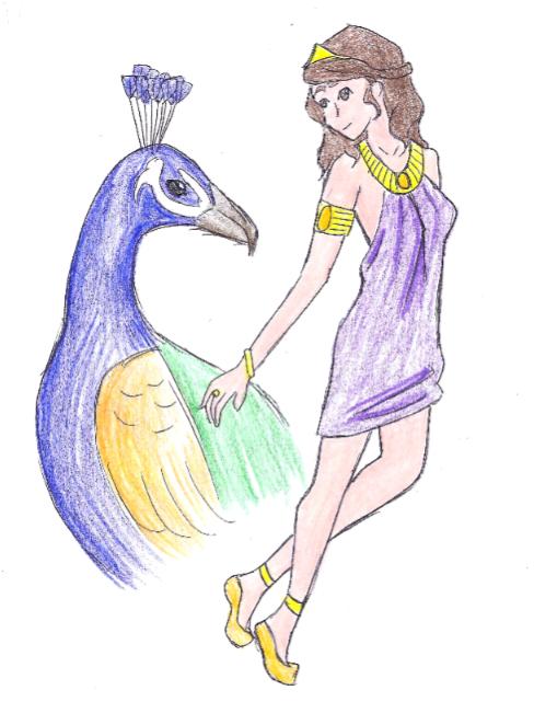 Hera by Ara-bell on DeviantArt Hera Drawing Easy