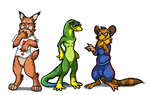 Forgotten 90's gaming mascots