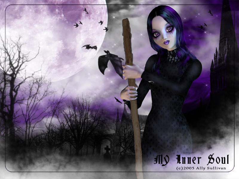 My Inner Soul by Allykatz by Dark-and-Gothic-Art