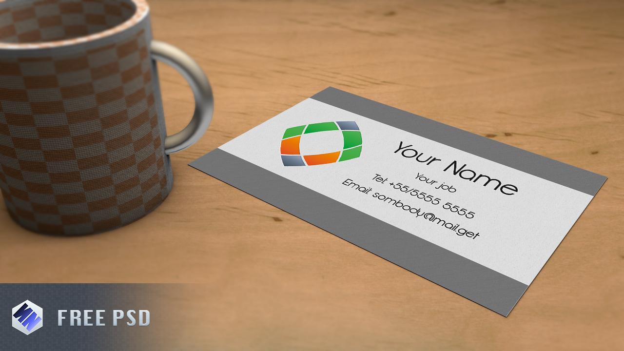 Business card Mockup by Szesze15 (FREE PSD)