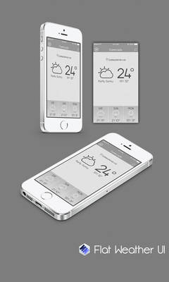 Flat Weather UI (Szesze15)