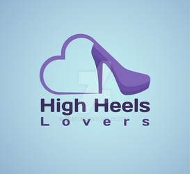 High heels lovers logo