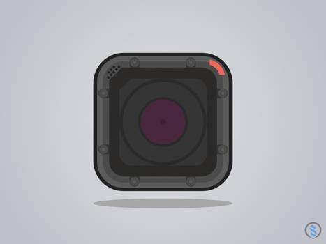 GoPro Flat icon