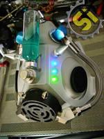 Iridium Cyber Goth Mask View 2 by SelfInflictedApparel