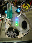 Iridium Cyber Goth Mask View 2