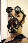 Venom Virus Mask + Goggles