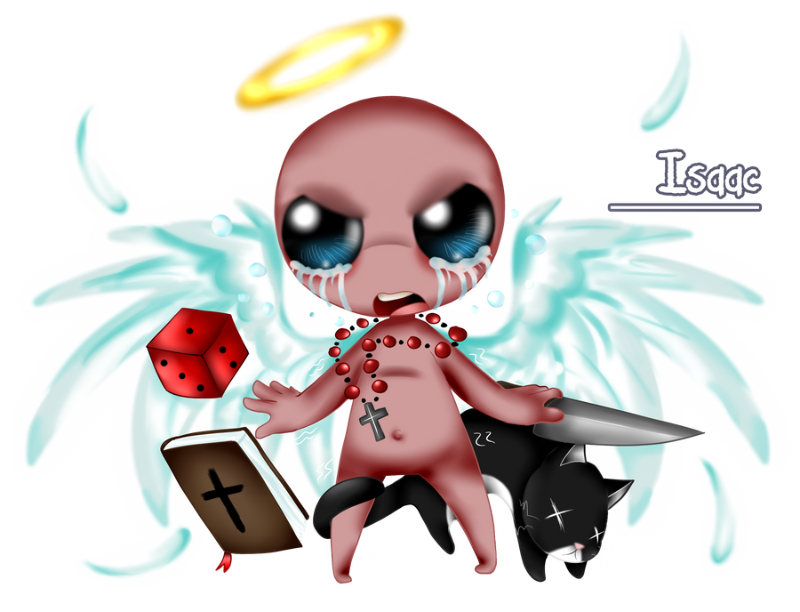 TBoI - The Fighter by GhostBulb