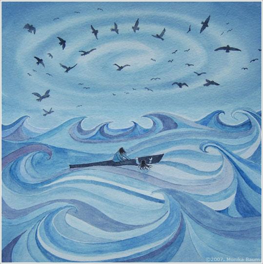 Sedna the Sea Goddess by monbaum