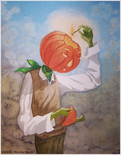 Jack Pumpkinhead by monbaum