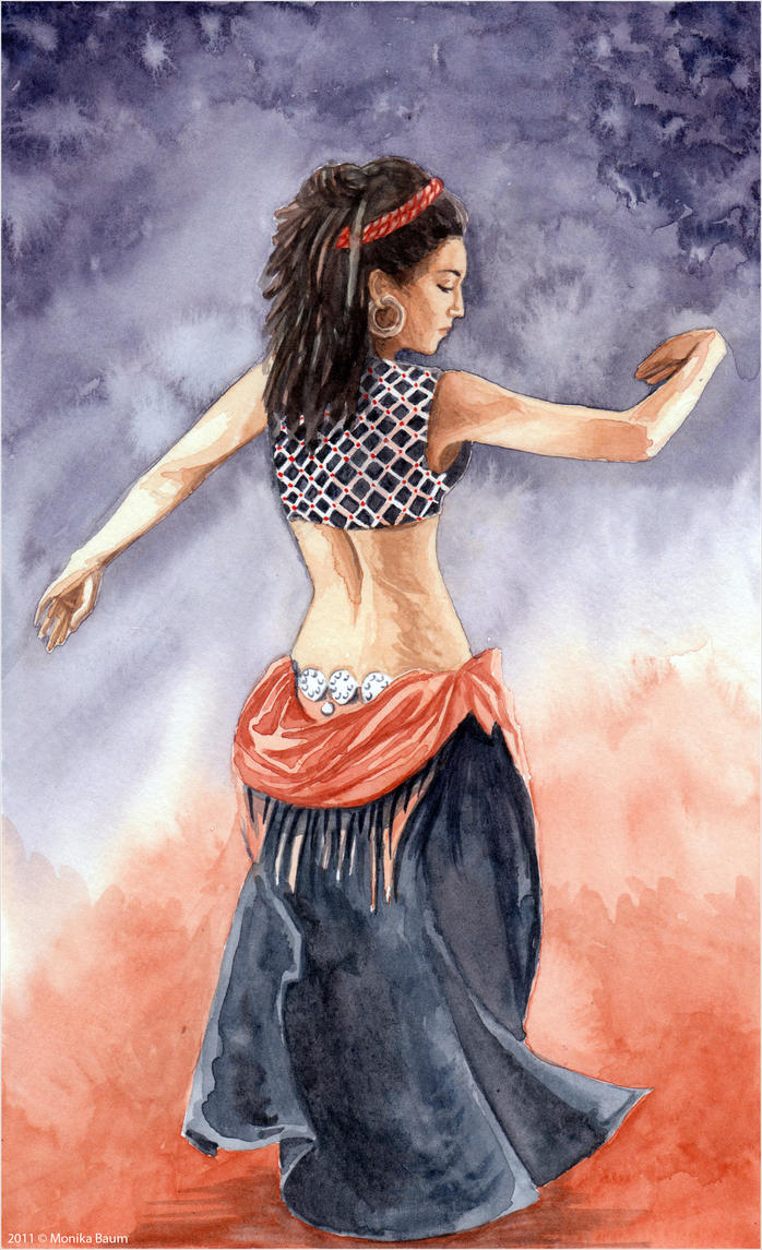 Belly Dancer by monbaum