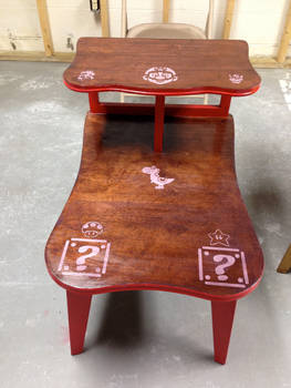 Refinished Mario Table