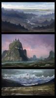 landscape practice2 by DBdantalion