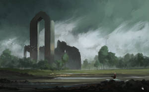 Ruins Of Eldena by DBdantalion
