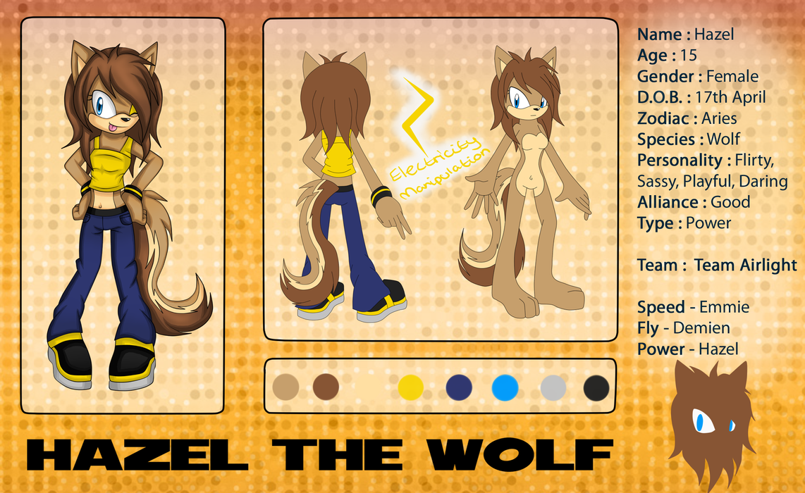 Hazel Reference Sheet by nakklesart