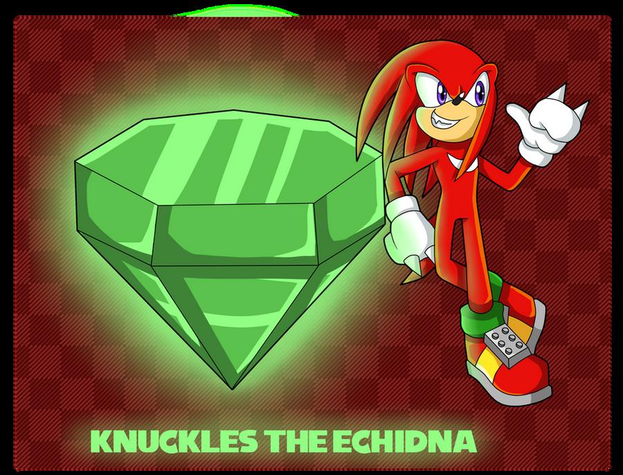 Chaos Emeralds... Master Emerald Knuckles by nakklesart
