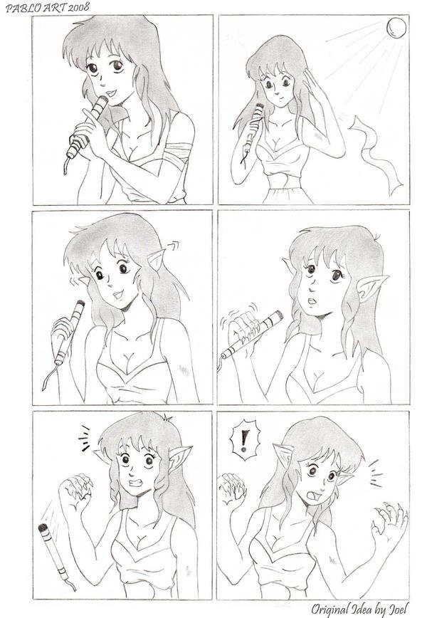 Lynn Minmei Werewolf First Page by Jokerisdaking