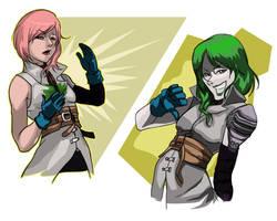 Green Lightning by Jokerisdaking