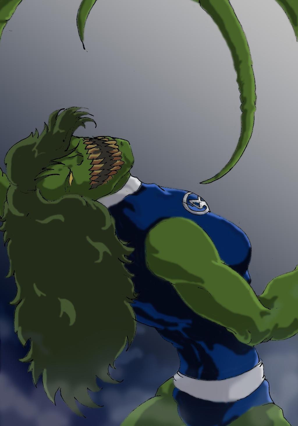 Venom She Hulk She-hulk is a brood by
