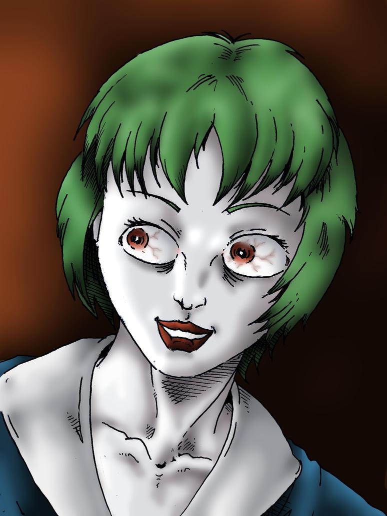 Rei Ayanami Gets A Little Crazy by Jokerisdaking