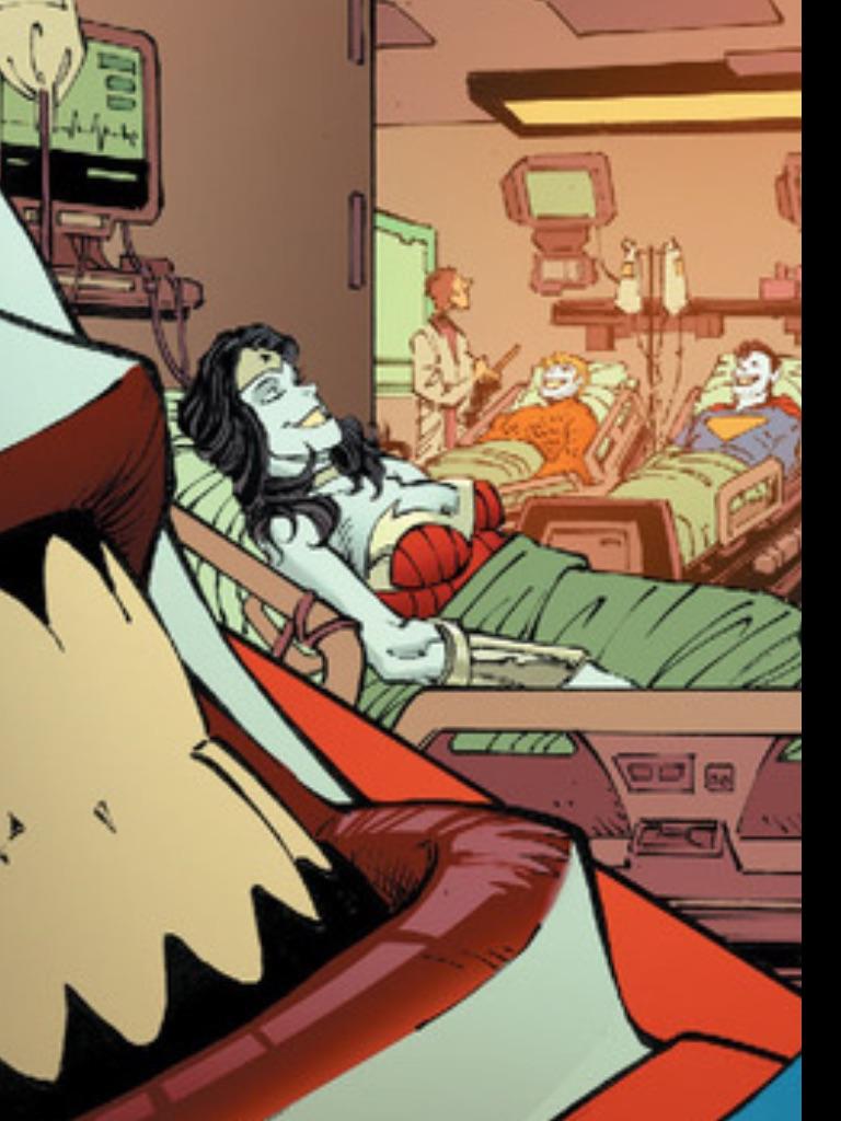 Real Jokerized WONDER WOMAN by Jokerisdaking