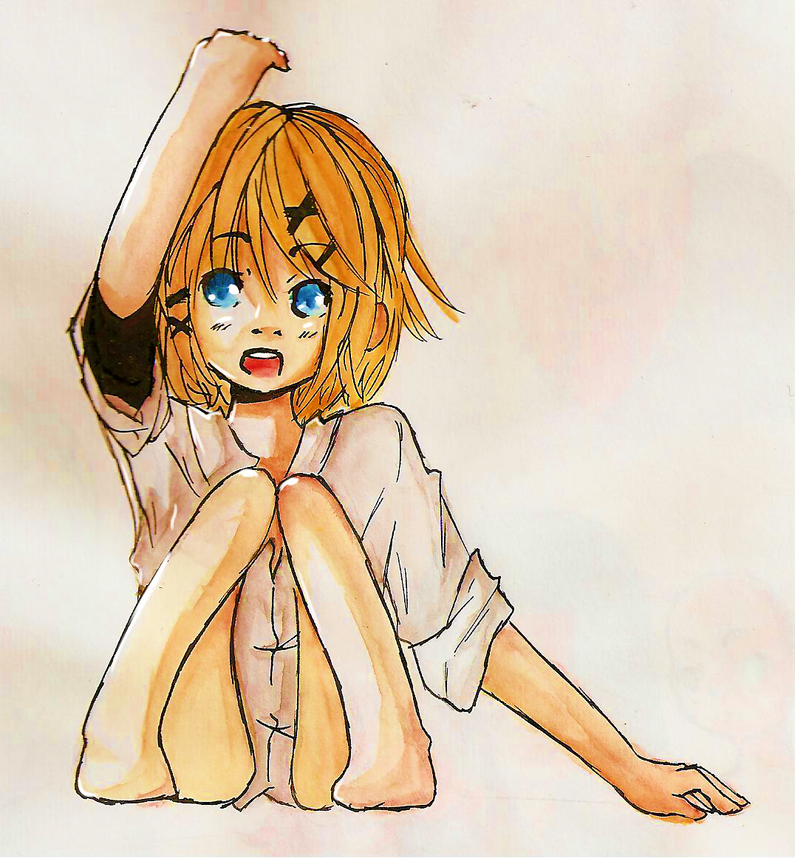 Petits tests d'aquarelle - Page 2 Rin_chan_watercolors__by_akii_sakura-d5cvbew