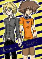 Taito: Digimon Anniversary by dotGOGO