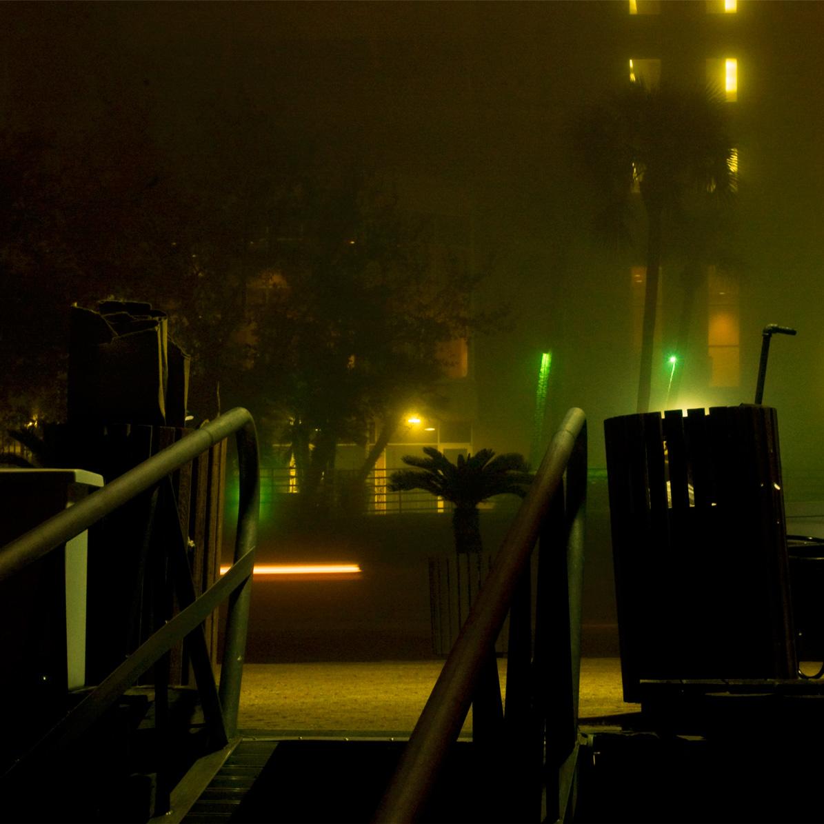 Fog and Trashcans
