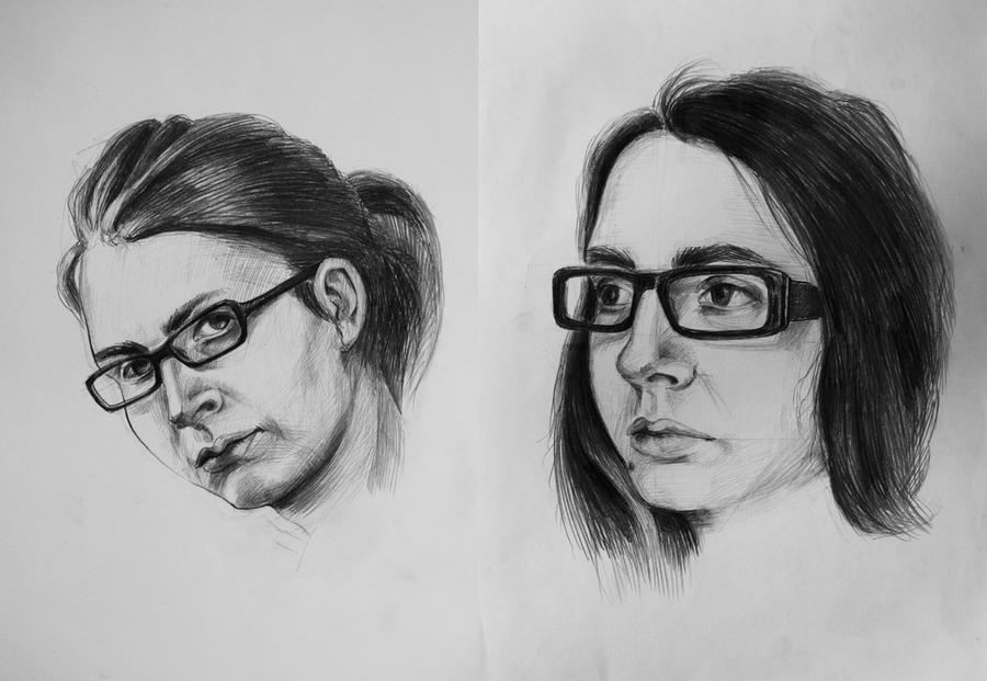 selfportraits by skaRface6