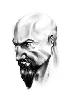 Cabbar-Face sketch